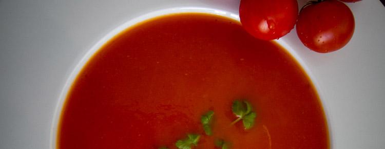 Zupa krem pomidorowo-pomarańczowa