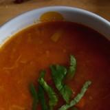 Zupa soczewicowa z dynią i batatem