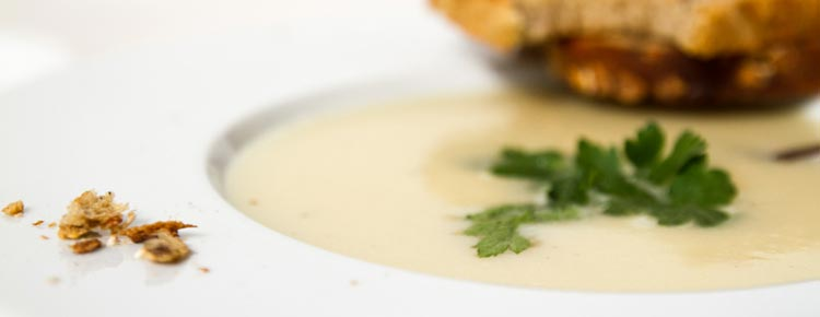 Zupa krem z chrzanu