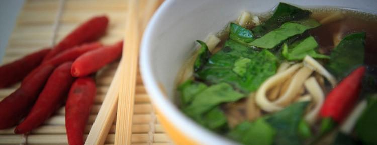 Orientalny rosół z kaczki