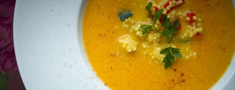 Zupa marchewkowa z dynią przepis