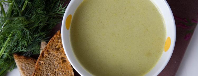Zupa koperkowa przepis