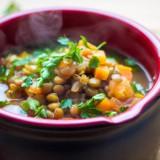 Fakes – grecka zupa z zieloną soczewicą