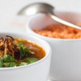 Marokańska zupa z soczewicą, cynamonem i kminem rzymskim