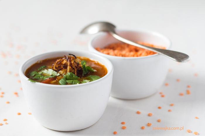 marokańska zupa z soczewicą przepis