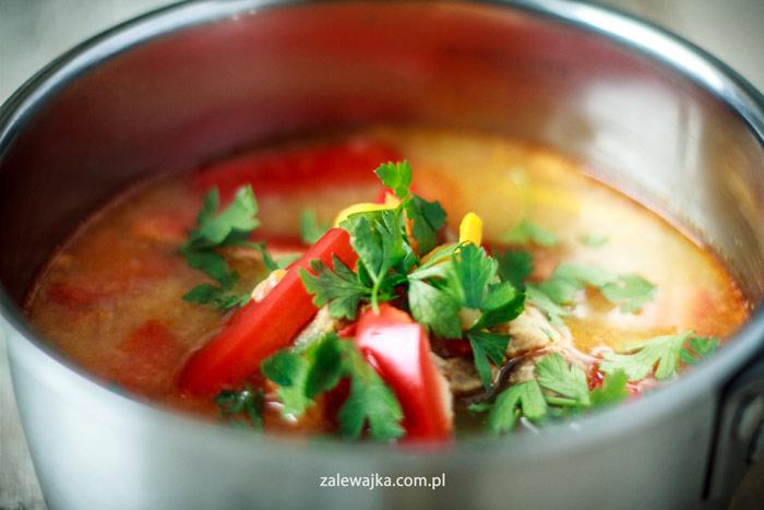 zupa gulaszowa z dynią