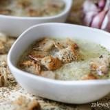 Czeska zupa czosnkowa, czyli przepis na česneková polévka