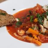 Wariacja na temat Bouillabaisse, czyli marsylska zupa rybna inaczej