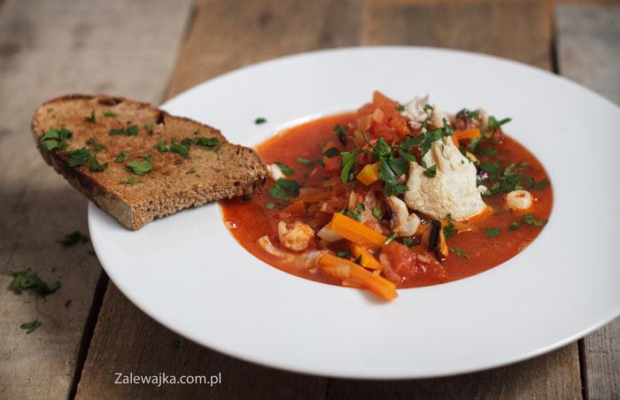 Marsylska zupa rybna